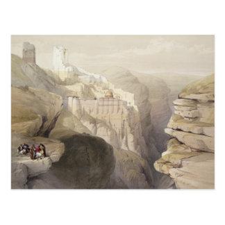 Kloster von St. Saba am 4. April 1839 überziehen Postkarte