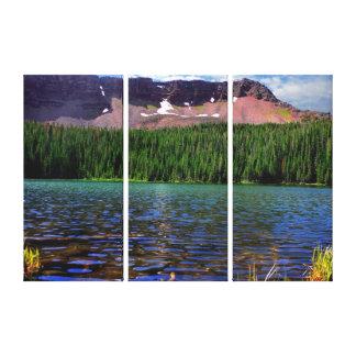 Kluane Berge Yukon Leinwanddruck