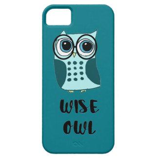 Kluge Eule iPhone 5 Case