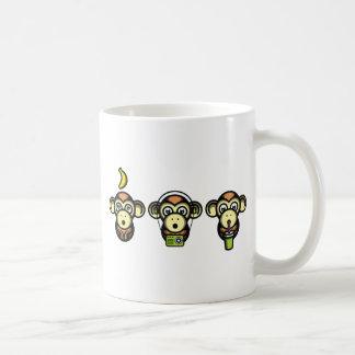 Klügere Affen Kaffeetasse
