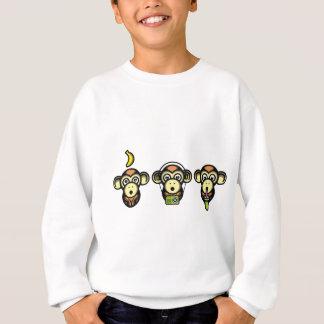 Klügere Affen Sweatshirt