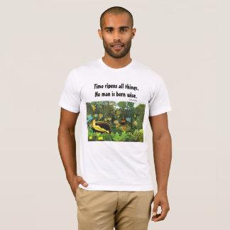 kluges Sprichwort und Kunst T-Shirt
