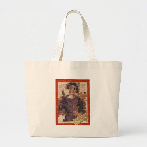 Klugheit, Collage Einkaufstaschen