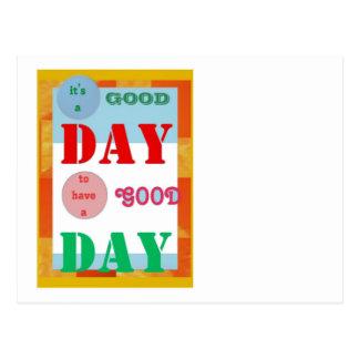 Klugheits-Zitat GoodDay GUTER TAG Spaß-Geschenke Postkarten