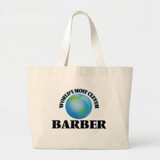 Klügste Friseur der Welt der Leinentaschen