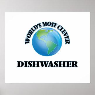 Klügste Spülmaschine der Welt die Poster