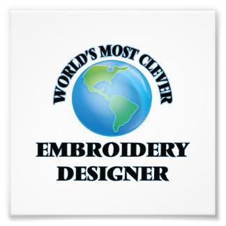 Klügster die Stickerei-Designer der Welt Photodrucke