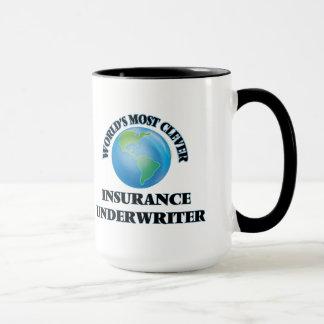Klügster Versicherer der Welt Tasse