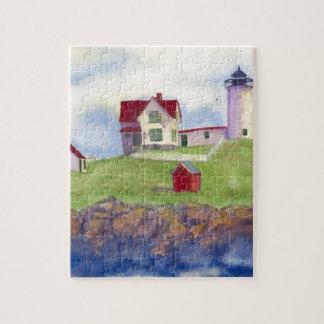 Klumpen-helles Haus York Maine Puzzle