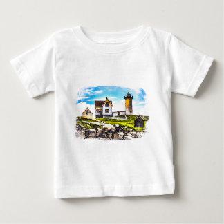 Klumpen-Leuchtturm Baby T-shirt
