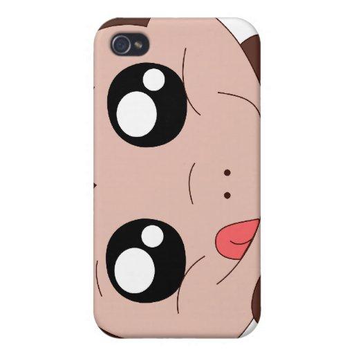 Klumpiger Affe an Ihrem Telefon iPhone 4 Etuis