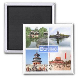 KN * China - Peking Quadratischer Magnet