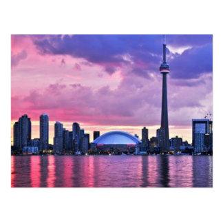 KN-Turm: Ansicht von der Mittelinsel Toronto Postkarte