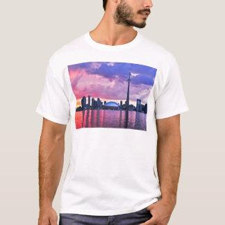 KN-Turm: Ansicht von der Mittelinsel Toronto T-Shirt
