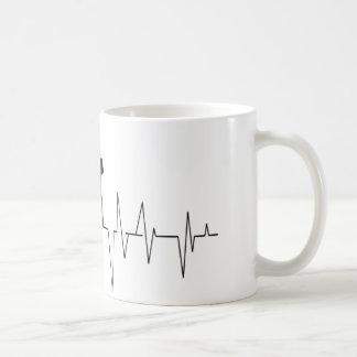 KN-Turm-Schallwellen Kaffeetasse