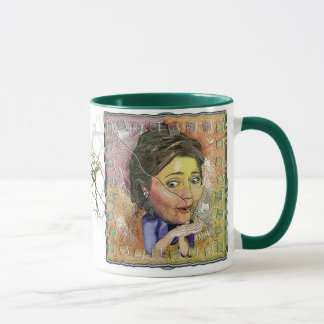 Knackende Tasse Hillary