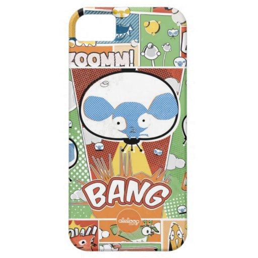KNALL! Comicbuch Aleloop iPhone Fall iPhone 5 Case