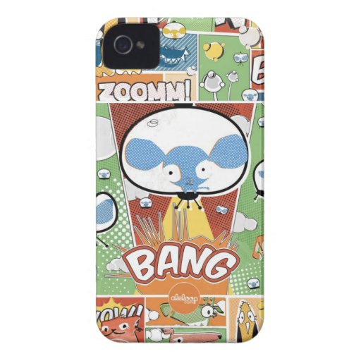 KNALL! Comicbuch Aleloop iPhone Fall Case-Mate iPhone 4 Hülle