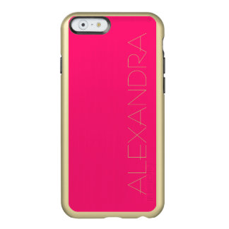 Knallrosa Normallack fertigen es besonders an Incipio Feather® Shine iPhone 6 Hülle