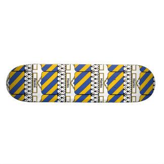 Knäuel-Familienwappen Individuelles Skateboard