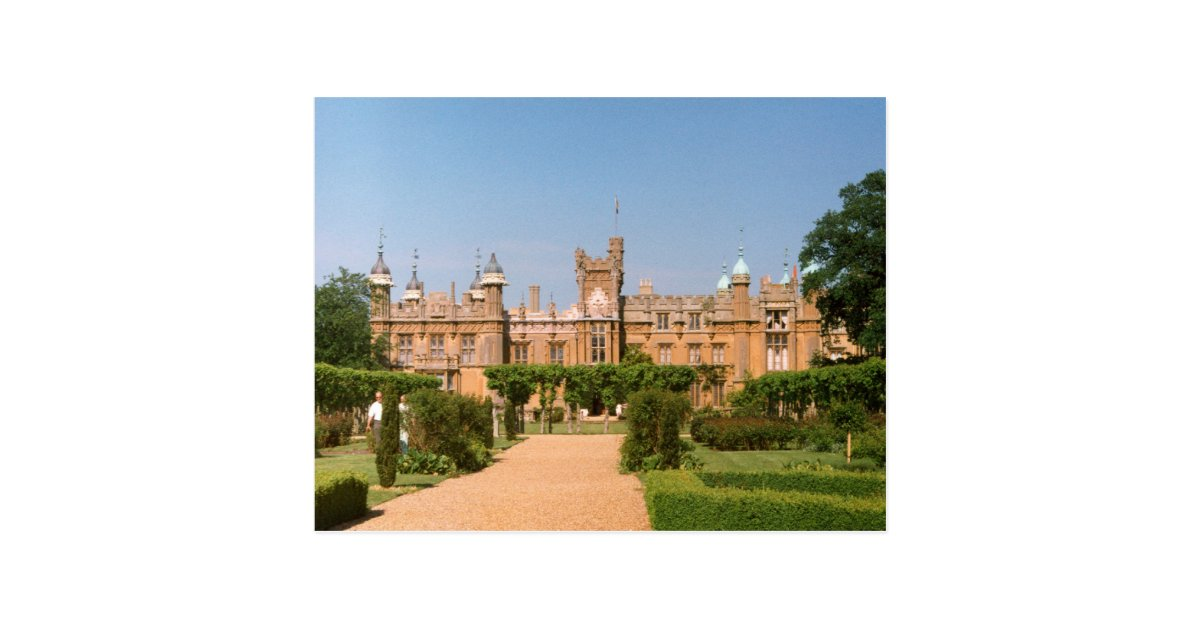 knebworth haus postkarte zazzle. Black Bedroom Furniture Sets. Home Design Ideas