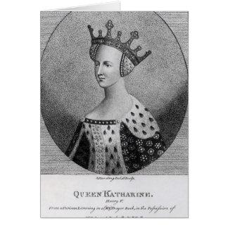 Kneipe der Königin Katherine. im Jahre 1792 Karte