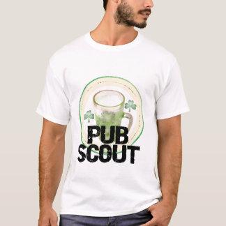 Kneipen-Pfadfinder-St Patrick Tagest-shirts und T-Shirt
