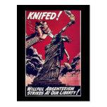 Knifed Postkarten