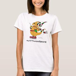 Knittinggaroos Rollerblading T-Shirt