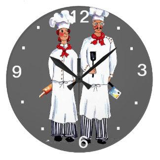 Kniving Kochs-Wand-Uhr