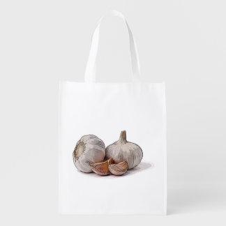 Knoblauch-wiederverwendbare Tasche Wiederverwendbare Einkaufstasche