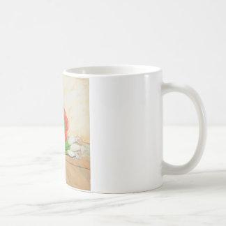 Knoblauch, Zwiebeln und Pfeffer Kaffeetasse