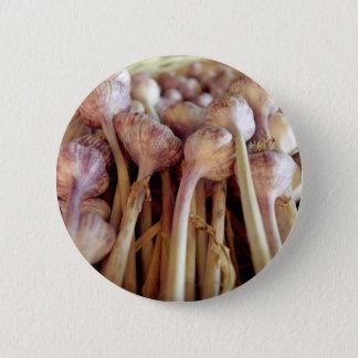 Knoblauchknollen Runder Button 5,7 Cm