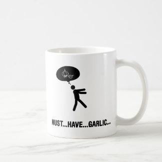 Knoblauchliebhaber Kaffeetasse