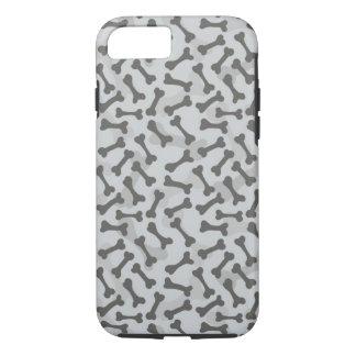 Knochen-Beschaffenheits-Muster Greyscale iPhone 8/7 Hülle