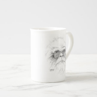 Knochen-China Sasquatch Kaffee-Tasse Porzellantasse