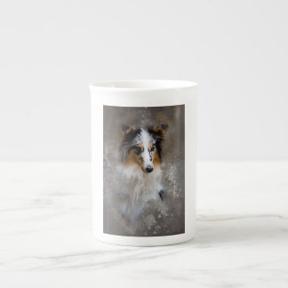 Knochen-China-Tasse Porzellantasse