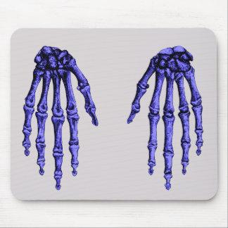 Knochen der menschlichen Hand Mousepad