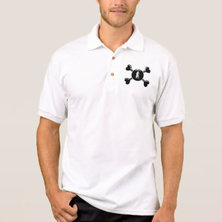 Knochen-Gebirgsradfahren Polo Shirt