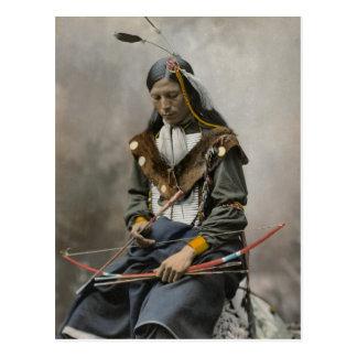 Knochen-Halskette, Rats-Leiter 1899 Postkarte