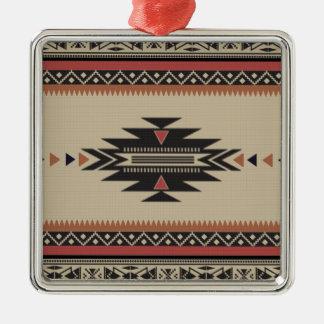 Knochen, Schwarzes, Rost-Ureinwohner-Art Silbernes Ornament