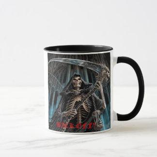Knochen-Sensenmann 2 Tasse