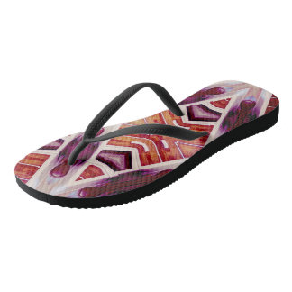 Knock man Wood Flip Flops