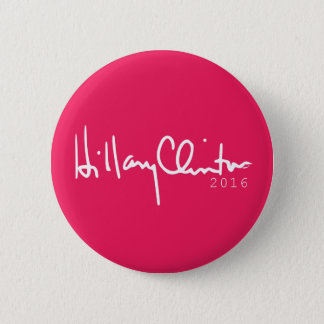 Knopf 2016 Hillary Clinton-Präsidenten-Pinback Runder Button 5,7 Cm