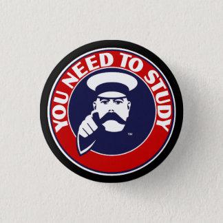 Knopf-Abzeichen in der Universität von Runder Button 2,5 Cm