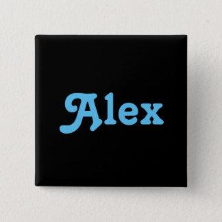 Knopf Alex Quadratischer Button 5,1 Cm