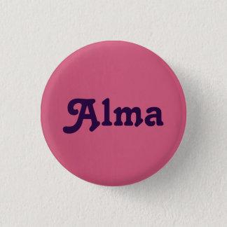 Knopf Alma Runder Button 2,5 Cm