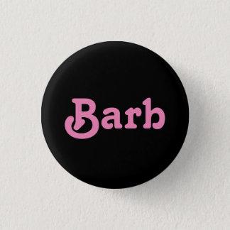 Knopf Barb Runder Button 2,5 Cm
