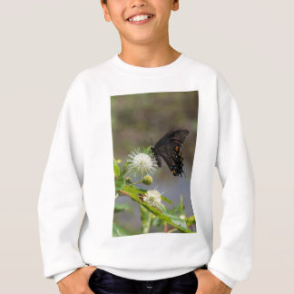 Knopf-Blume u. spicebush3 Sweatshirt