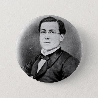 Knopf Cinco Des Mayo Ignacio Saragossa Seguín Runder Button 5,1 Cm